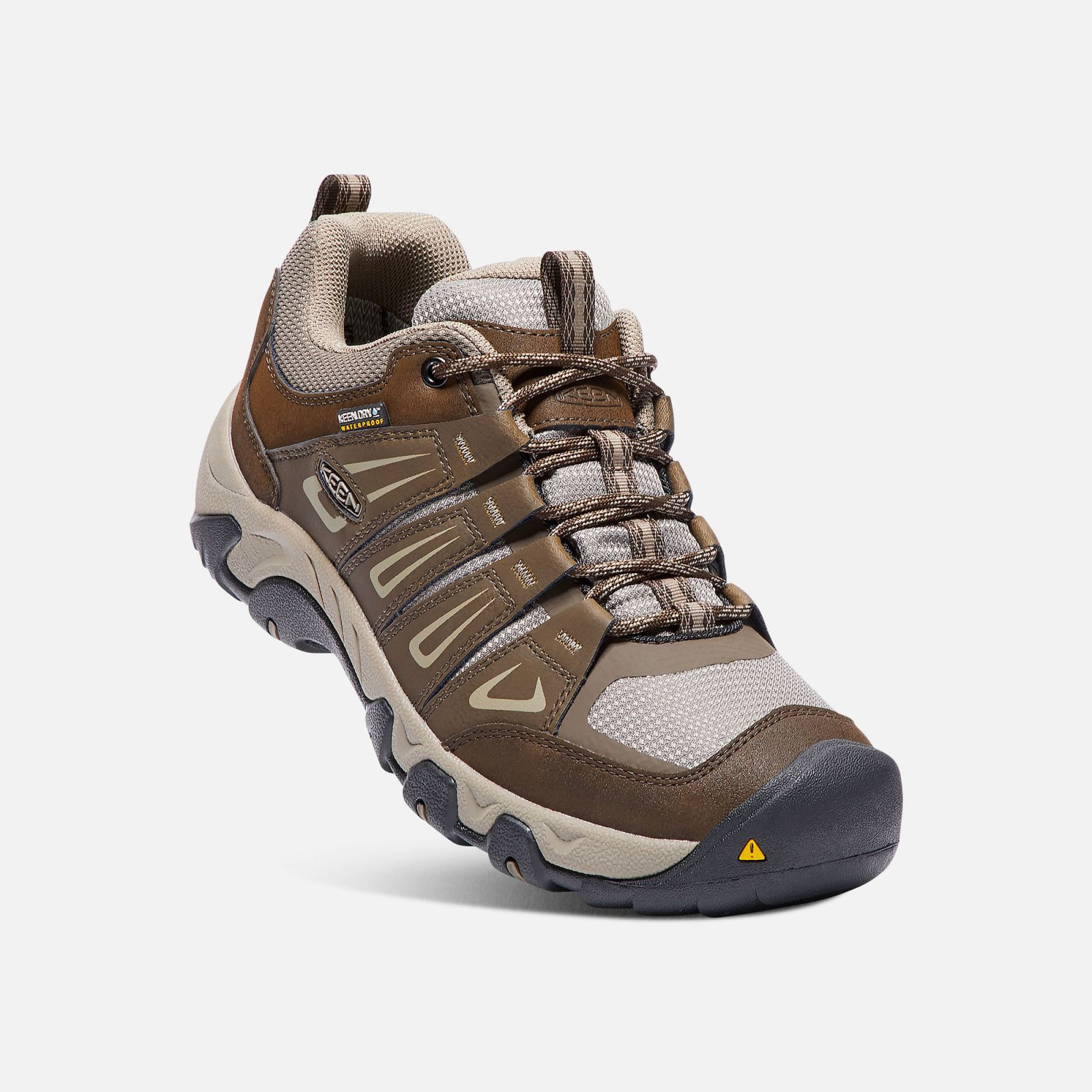 Tazz-Sport - KEEN Oakridge WP M Cascade brown / Brindle