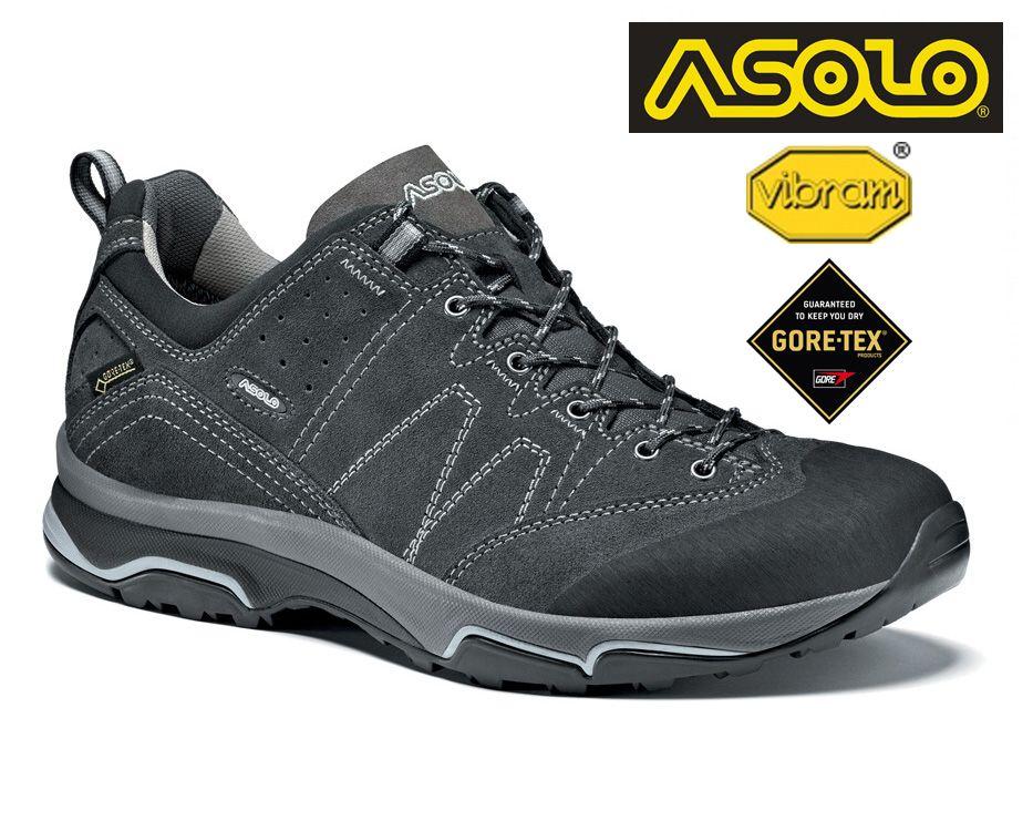 Tazz-Sport - Asolo Agent EVO GV MM graphite pánská treková bota