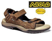 Tazz-Sport - Asolo Metropolis brown trekové sandále