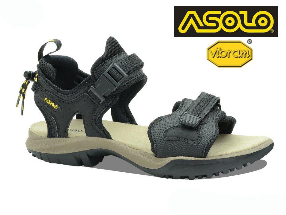 Tazz-Sport - Asolo Scrambler black trekové sandále