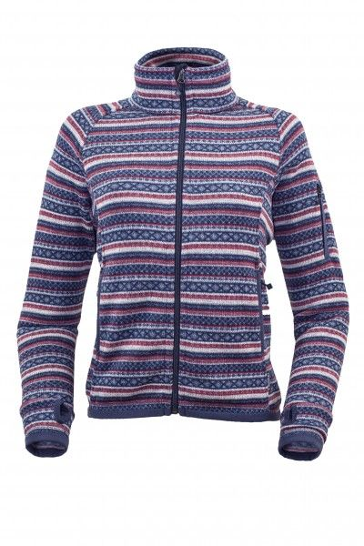 Tazz-Sport - Warmpeace Norwega lady wine blue