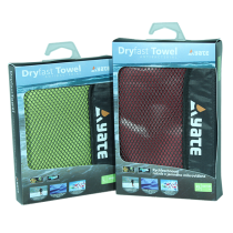 Yate quick-drying towel L ruby