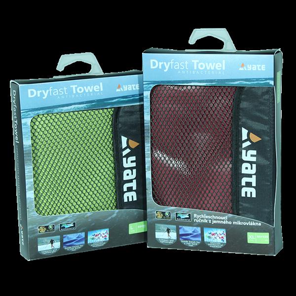 Tazz-Sport - Yate rychleschnoucí ručník XL rubínový