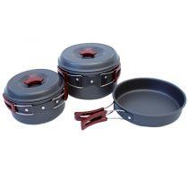 Tazz-Sport - Yate Yen sada nádobí z tvrzeného hliníku s nepřilnavým povrchem