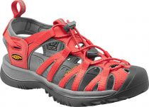 KEEN Whisper W Hot Coral/Neutral Gray