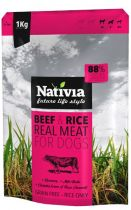 Zobrazit detail - Nativia Real Meat Beef & Rice 8kg