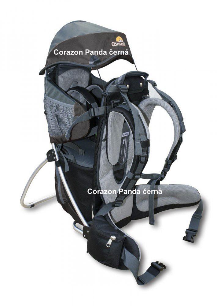 Tazz-Sport - Corazon Panda černá