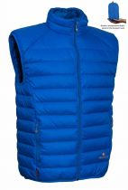 Warmpeace Drake royal blue vesta