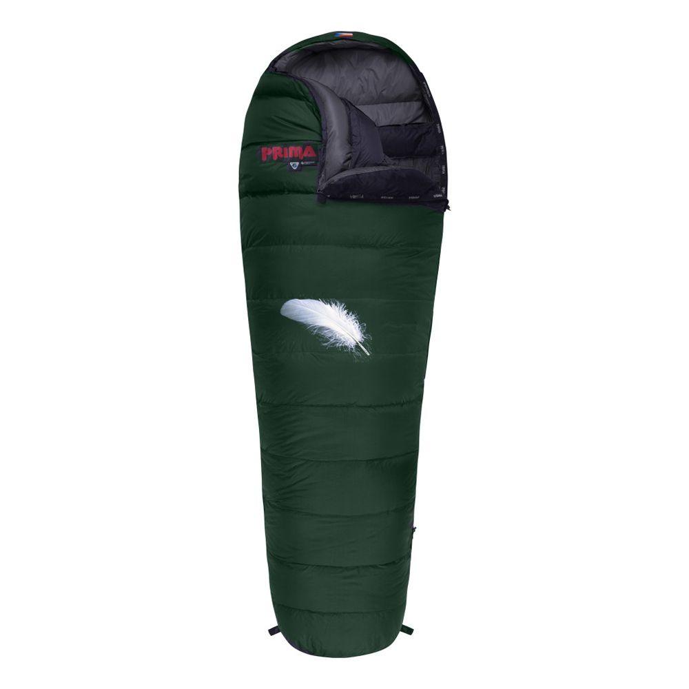 Tazz-Sport - Prima Polar 800 zelený Péřový spacák