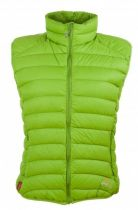 Warmpeace Swan lady vest lime
