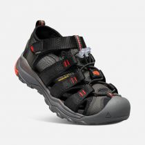 KEEN Newport NEO H2 Junior Black/ Firey red