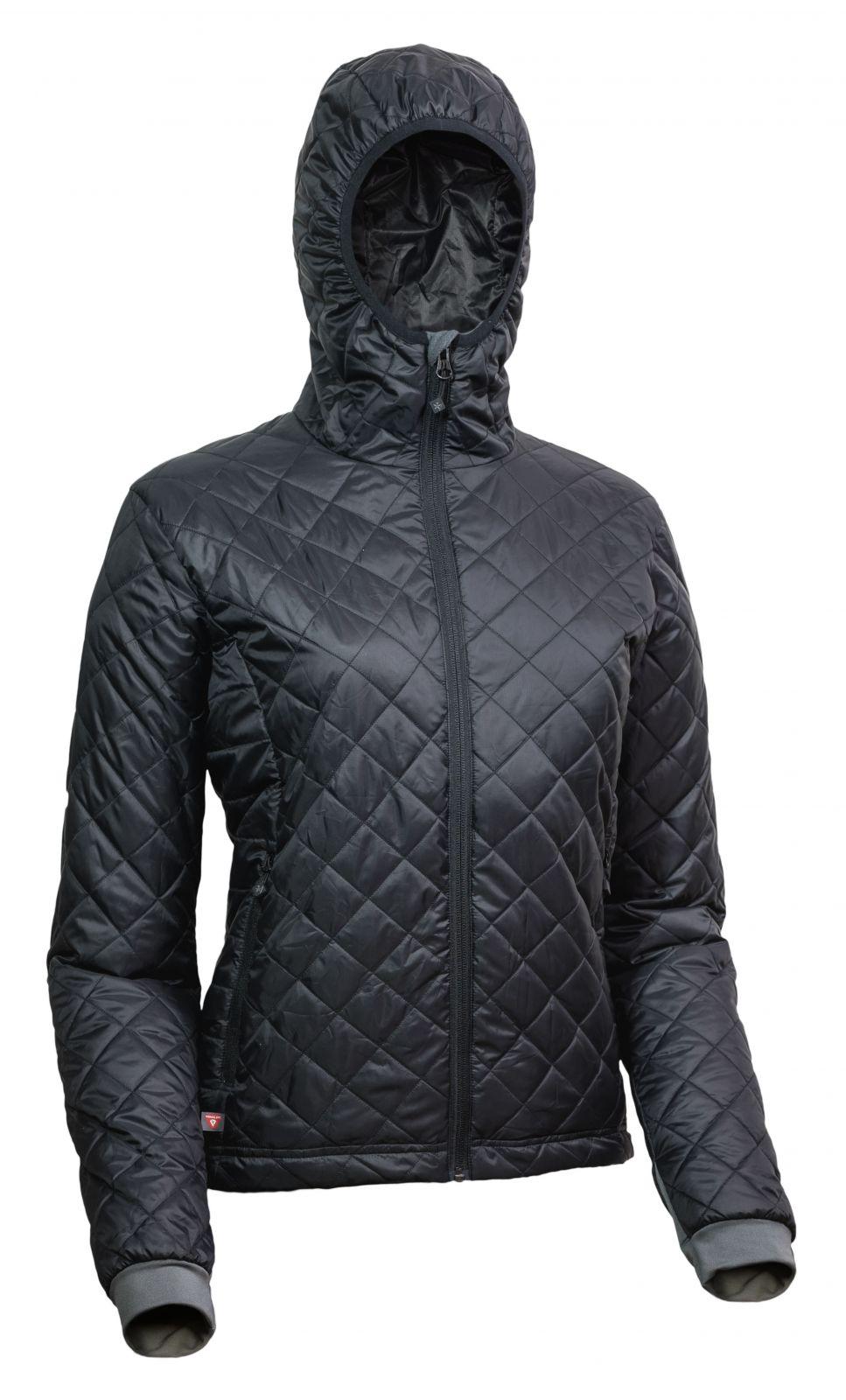 Tazz-Sport - Warmpeace Astra Lady black / black dámská bunda zateplená PrimaLoftem