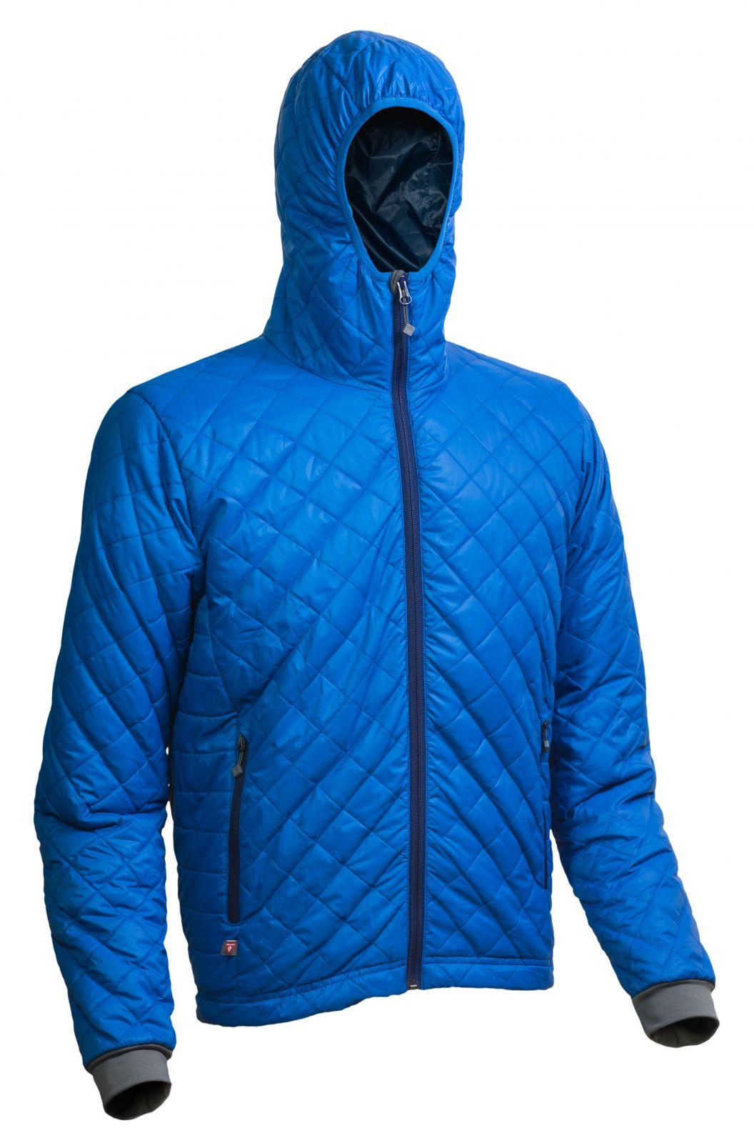 Tazz-Sport - Warmpeace Spirit royal blue / navy pánská bunda zateplená PrimaLoftem