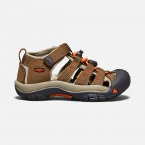 Tazz-Sport - KEEN Newport H2 Junior Dark Earth / Spicy Orange ORANGE Dětský sandál