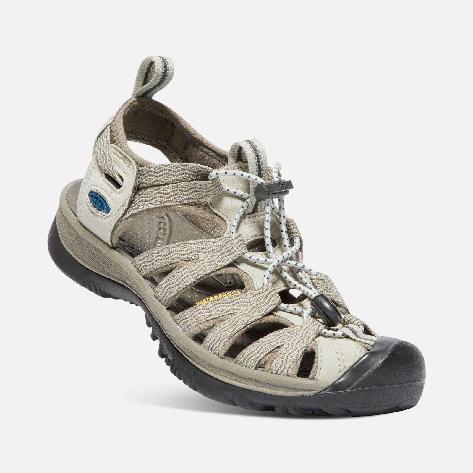 Tazz-Sport - KEEN Whisper W Agate grey / Blue opal dámský sandál