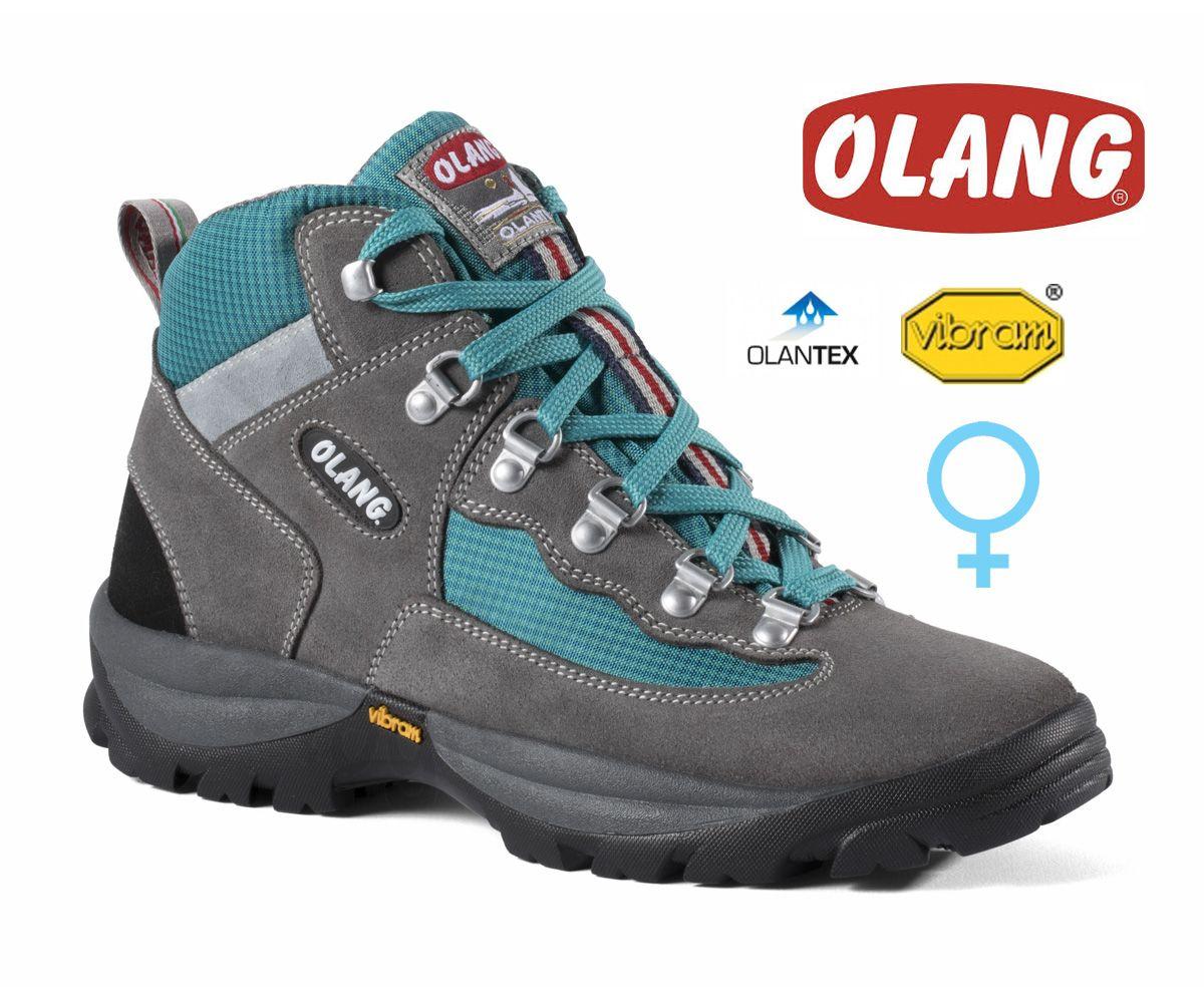 Tazz-Sport - Olang Gottardo Asfalto / Jeans dámská středně vysoká treková bota