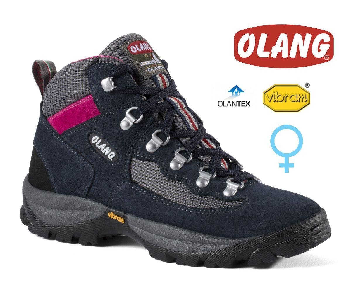 Tazz-Sport - Olang Gottardo Blu dámská středně vysoká treková bota