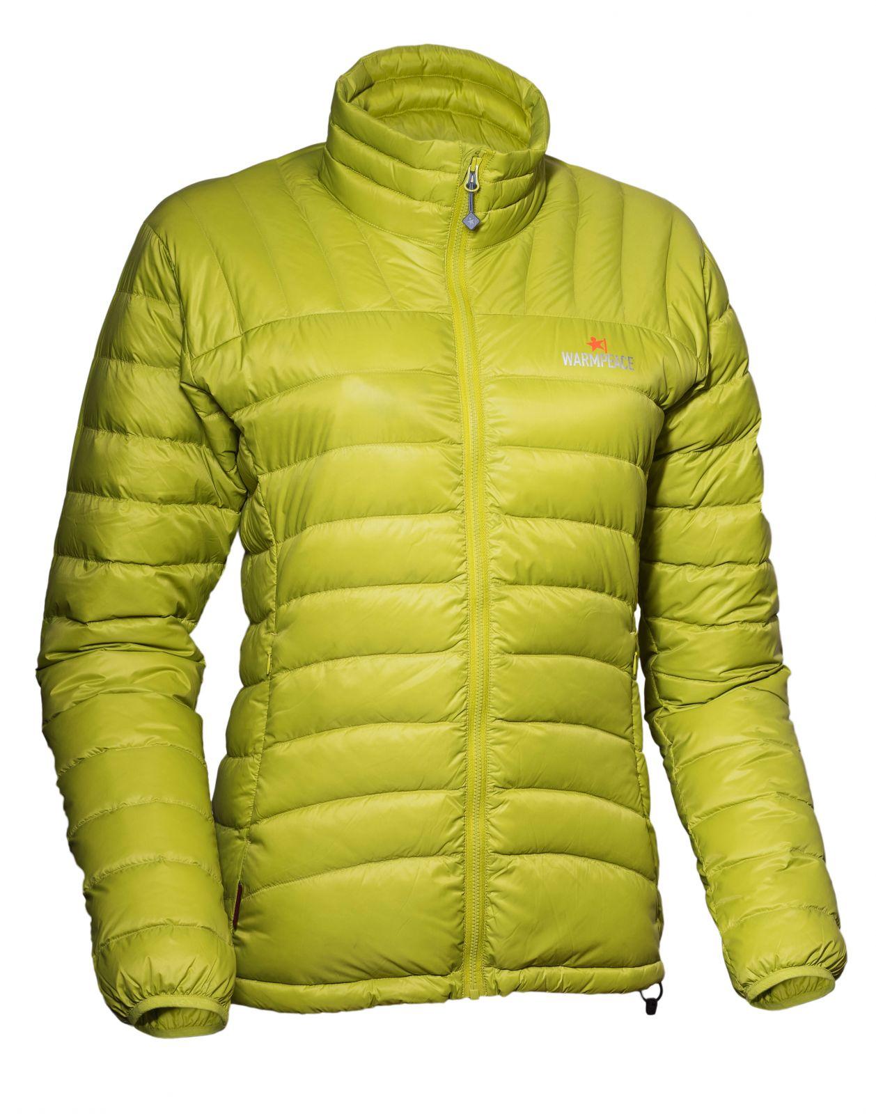 Tazz-Sport - Warmpeace Swing lady péřová bunda citronelle