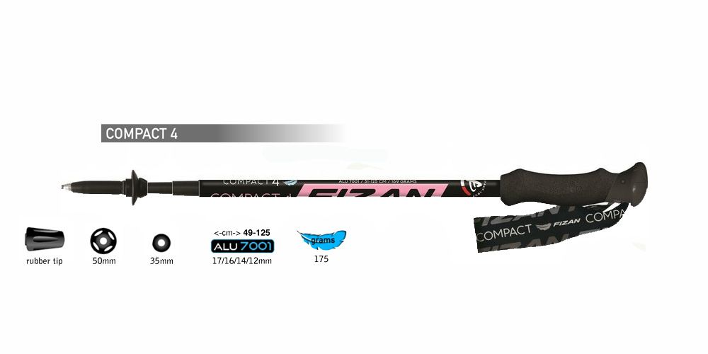 Tazz-Sport - Fizan Compact 4 pink
