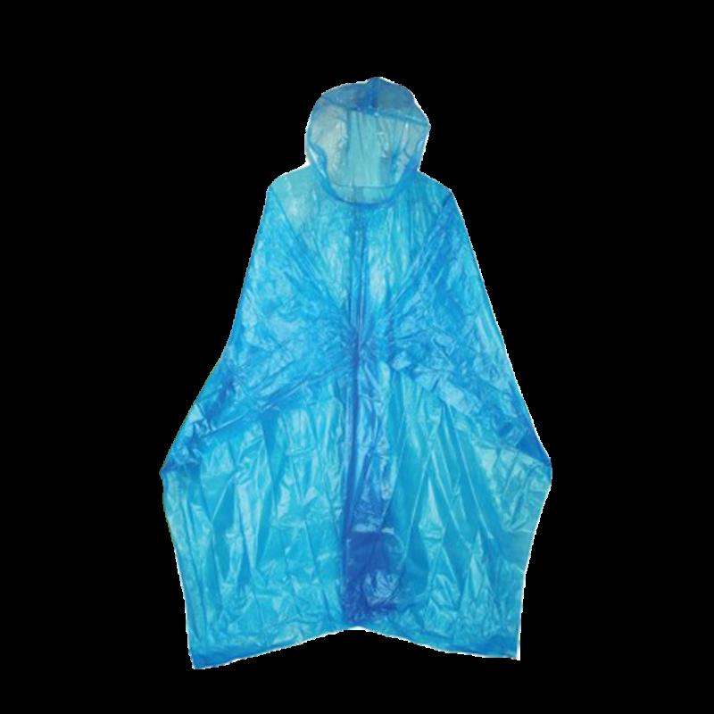 Tazz-Sport - HIGHLANDER Pláštěnka Emergency LDPE pončo modrá