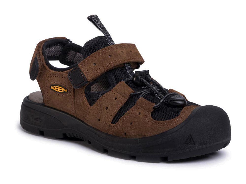 Tazz-Sport - KEEN Balboa EXP Junior Bison / Black Dětský sandál