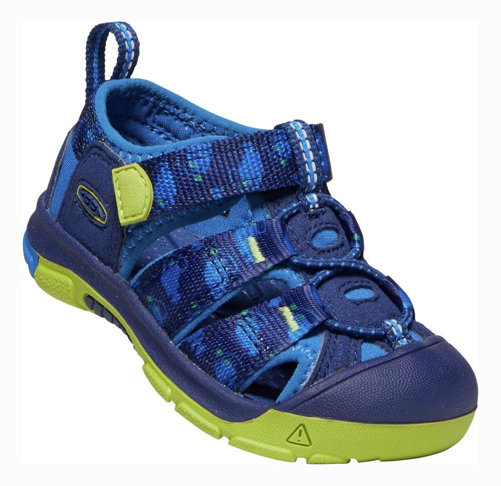 Tazz-Sport - KEEN Newport H2 Junior Blue Depths / Chartreuse Dětský sandál