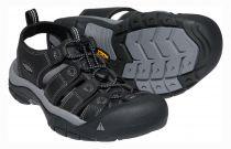 Tazz-Sport - KEEN Newport Men Black/Steel Grey sandál do nepříznivých podmínek