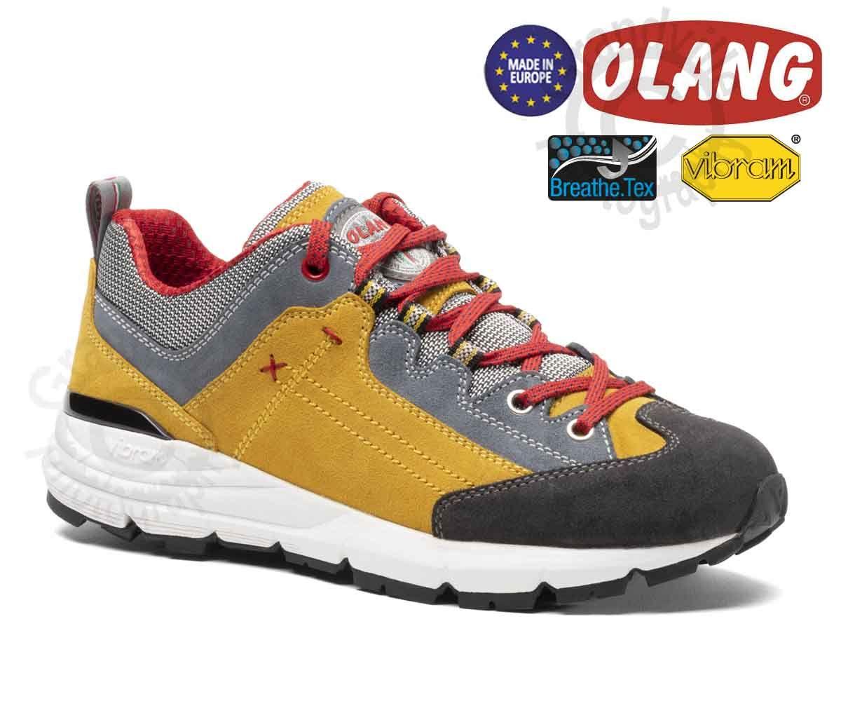 Tazz-Sport - Olang Leone Giallo BTX Treková obuv