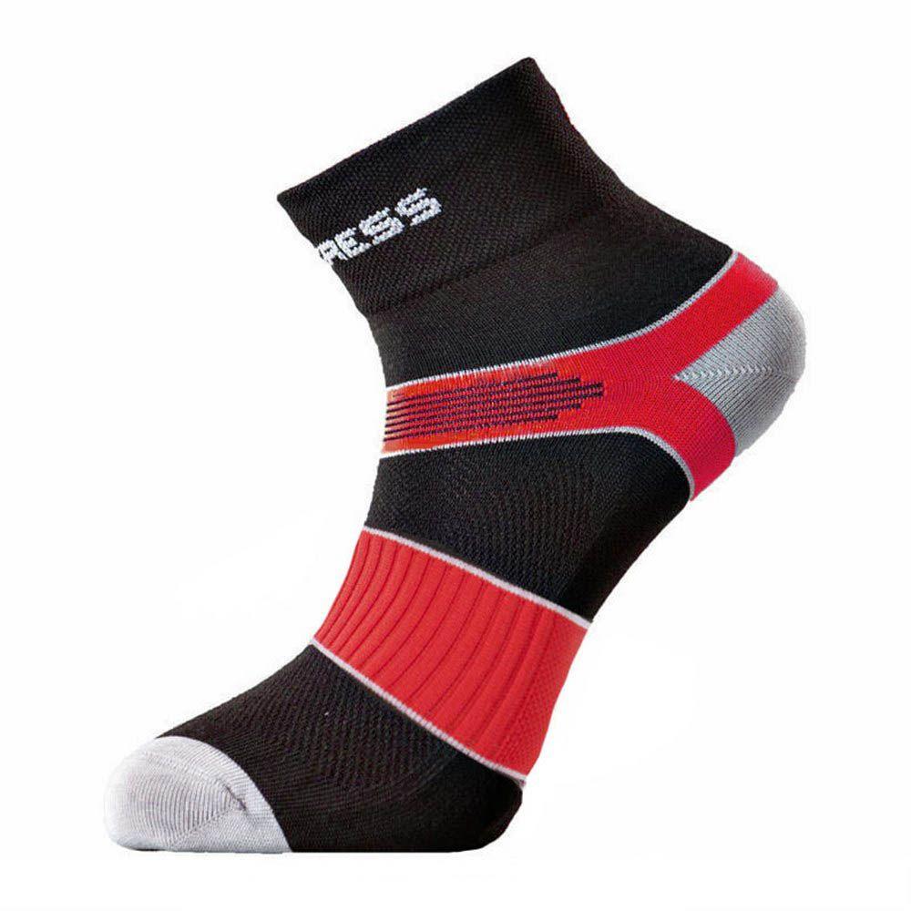 Tazz-Sport - Progress Cycling cyklistické ponožky černá/červená