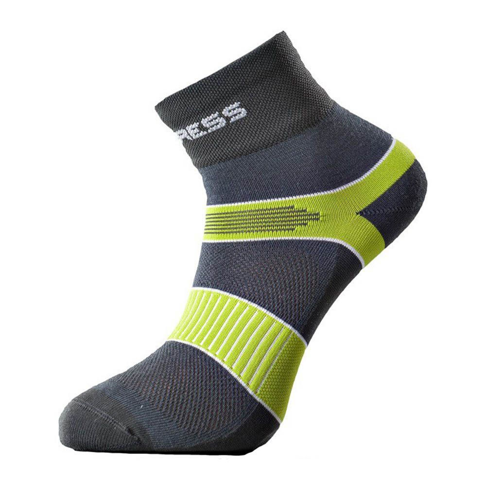 Tazz-Sport - Progress Cycling cyklistické ponožky šedá/zelená
