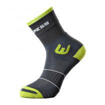 Progress WALKING letní turistické ponožky šedá/zelená | 39-42, 43-47