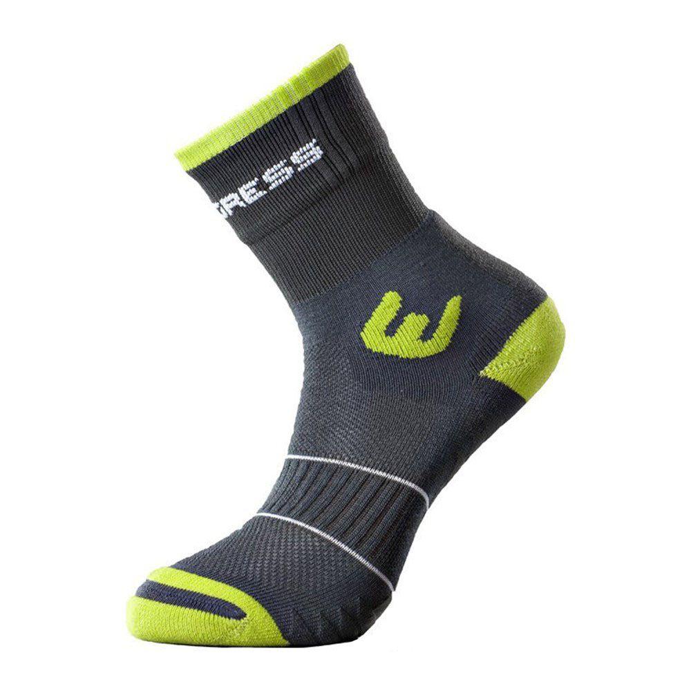 Tazz-Sport - Progress WALKING letní turistické ponožky šedá/zelená