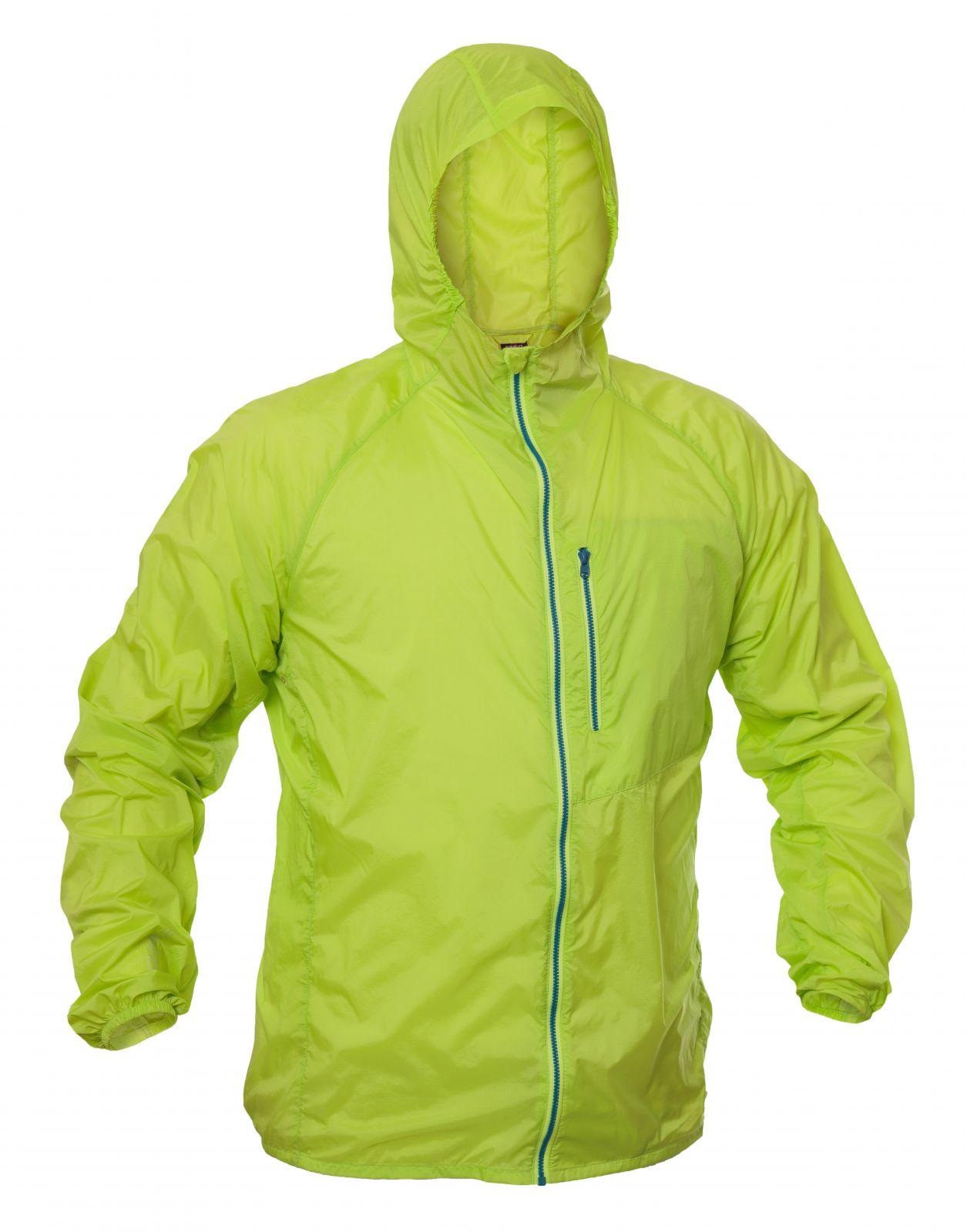 Tazz-Sport - Warmpeace Forte lime ultralehká bunda celopropínací Unisex