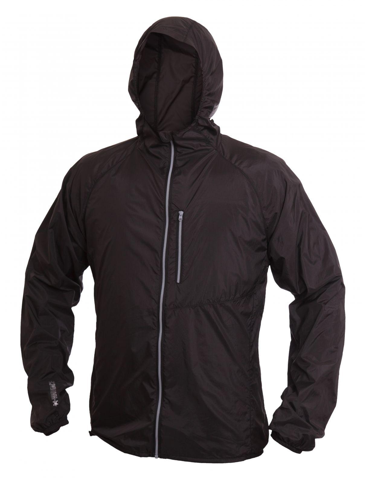Tazz-Sport - Warmpeace Forte raven black ultralehká bunda celopropínací Unisex