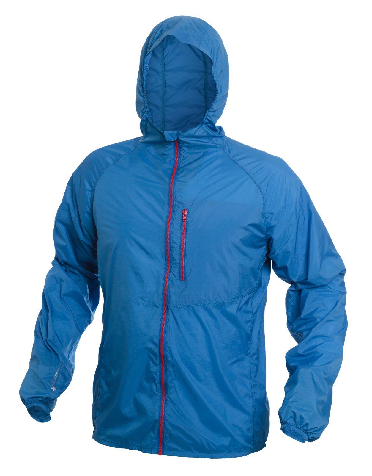 Tazz-Sport - Warmpeace Forte strong blue ultralehká bunda celopropínací Unisex