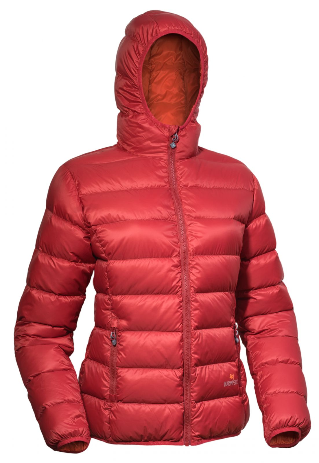 Tazz-Sport - Warmpeace Tacoma lady mars red/orange dámská péřová bunda