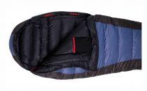 Tazz-Sport - Warmpeace Viking 600 shadow blue / grey / black, péřový spacák