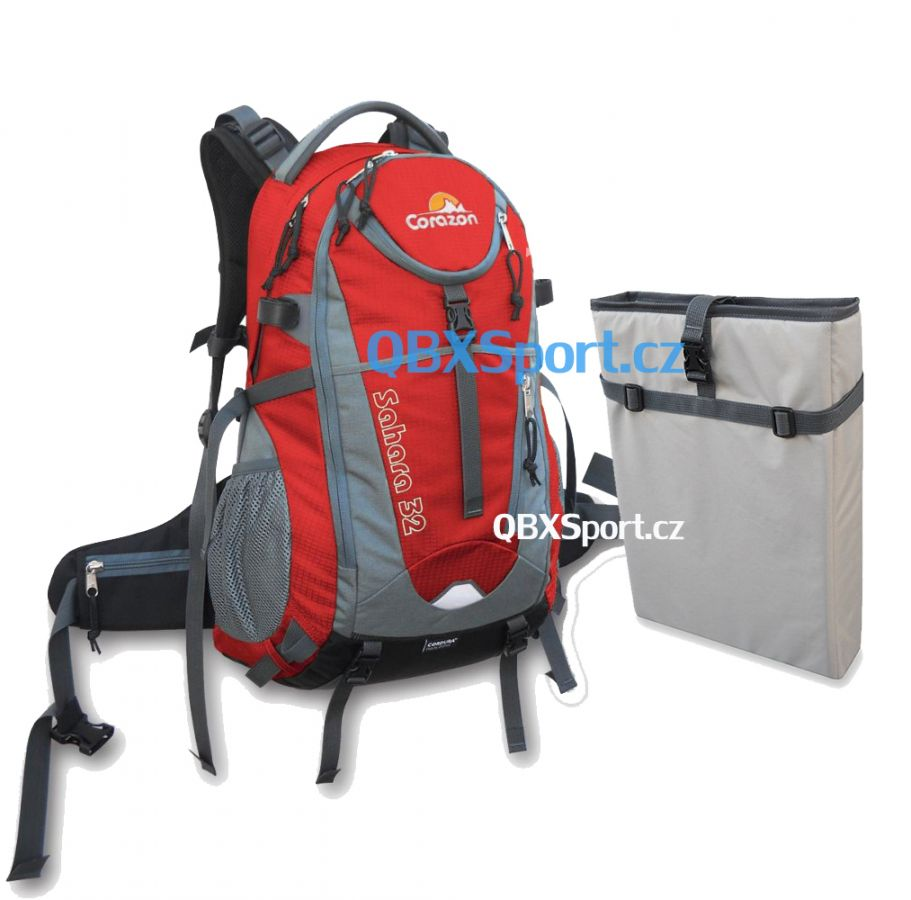 Tazz-Sport - Corazon Sahara 32 červená + pouzdro na notebook