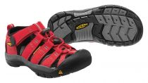Keen Newport H2 kids ribbon red gargoyle
