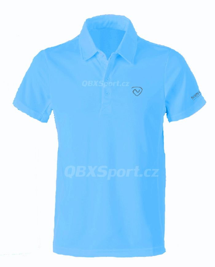Tazz-Sport - Northland Cooldry Gregor polo shirt azure blue