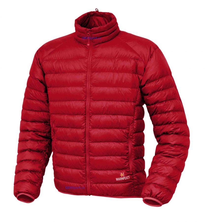 Tazz-Sport - Péřová bunda Warmpeace Drake bunda red