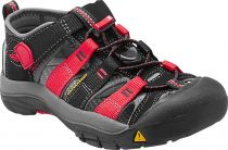Tazz-Sport - KEEN Newport H2 Junior Black/Racing red multi Dětský sandál