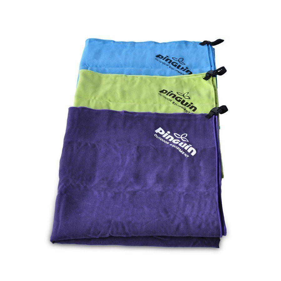 Tazz-Sport - Pinguin ručník 40x80 violet rychleschnoucí ručník