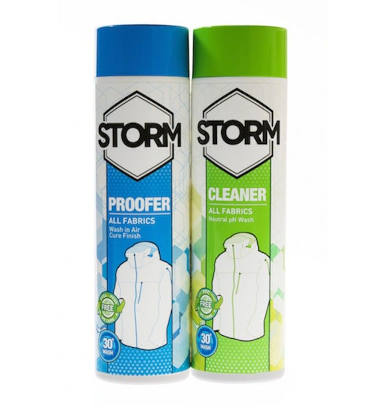 Tazz-Sport - Storm Twin Pack Cleaner + Proofer 2 x 300 ml