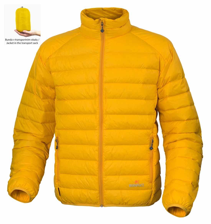 Tazz-Sport - Warmpeace Drake péřová bunda mango