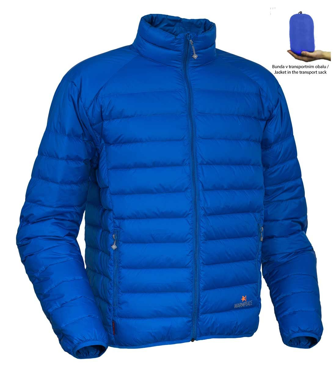 Tazz-Sport - Warmpeace Drake péřová bunda royal blue