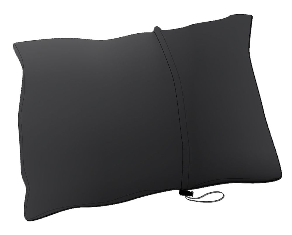 Tazz-Sport - Warmpeace Péřový polštářek black