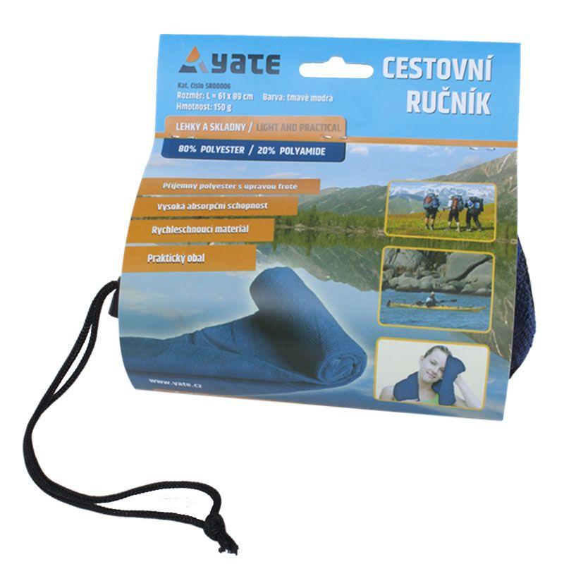 Tazz-Sport - Yate cestovní ručník modrý