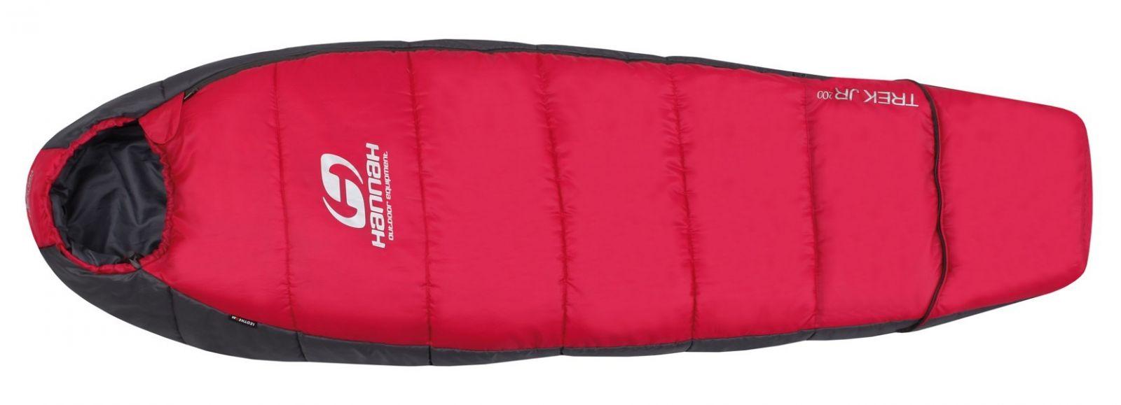 Tazz-Sport - Hannah Trek JR 200 Bright rose/graphite 145 cm dětský spací pytel