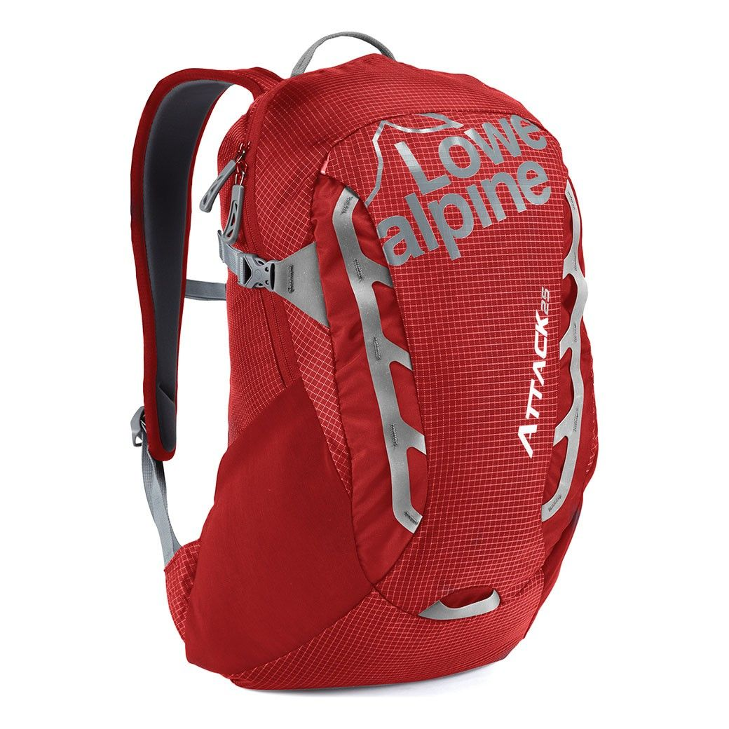 Tazz-Sport - Lowe Alpine Attack 25 Pepper red / Mid gray